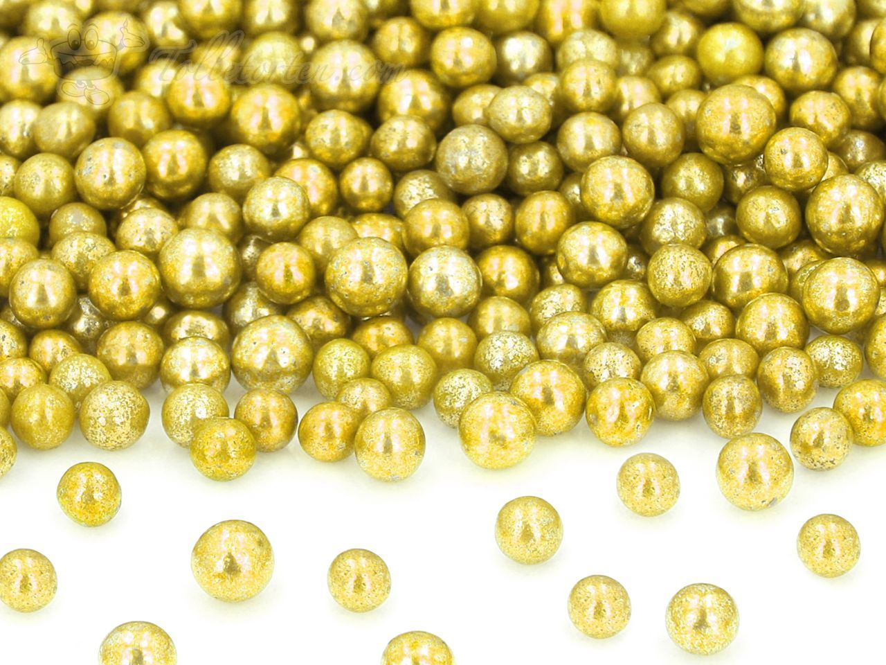 goldperlen gro zucker 50g perlen tolletorten. Black Bedroom Furniture Sets. Home Design Ideas