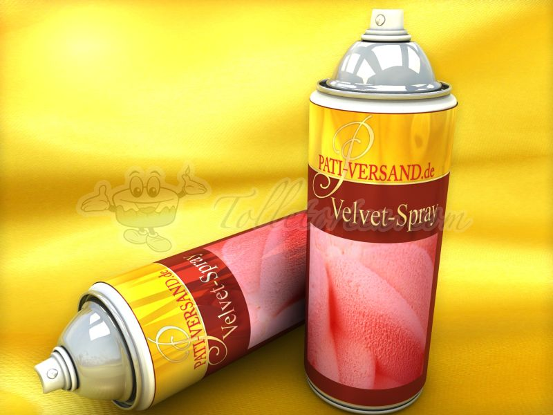 Velvet-Spray rot 400ml