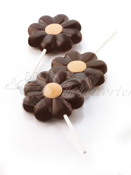 Silikonform Cake Pop Star