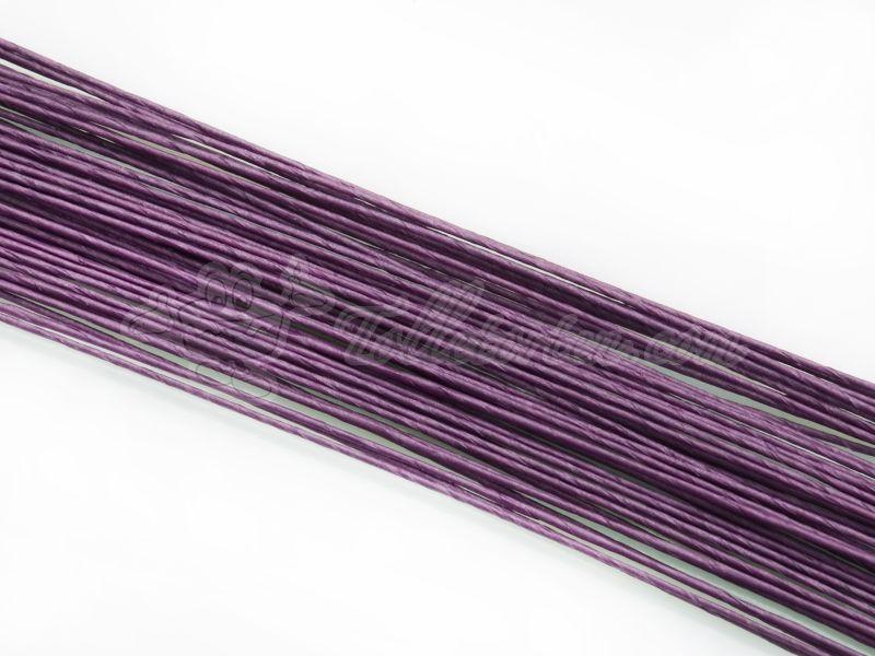 Blumendraht violett 24G 50 Stück | Blumendrähte
