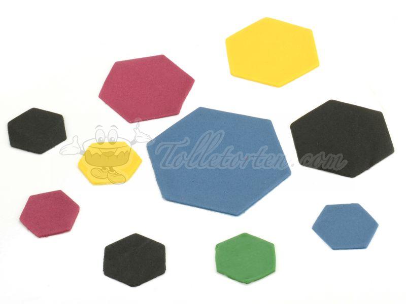 Ausstecherset Hexagon 3er