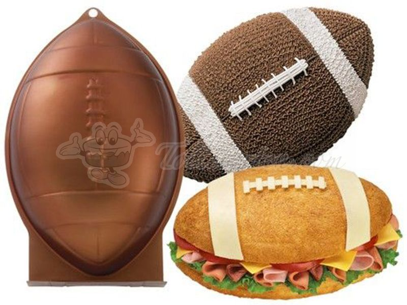 Wilton First & Ten Football Cake Pan