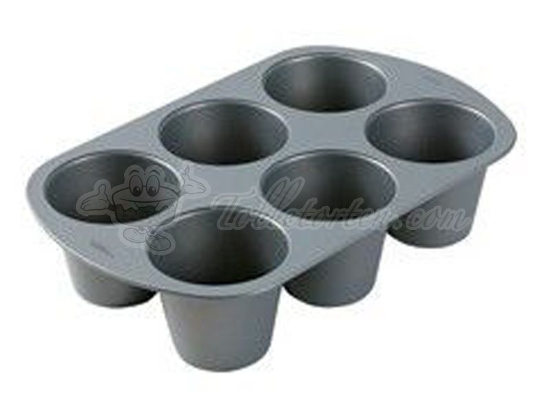 Wilton King-Size 6 Cup Muffin Pan