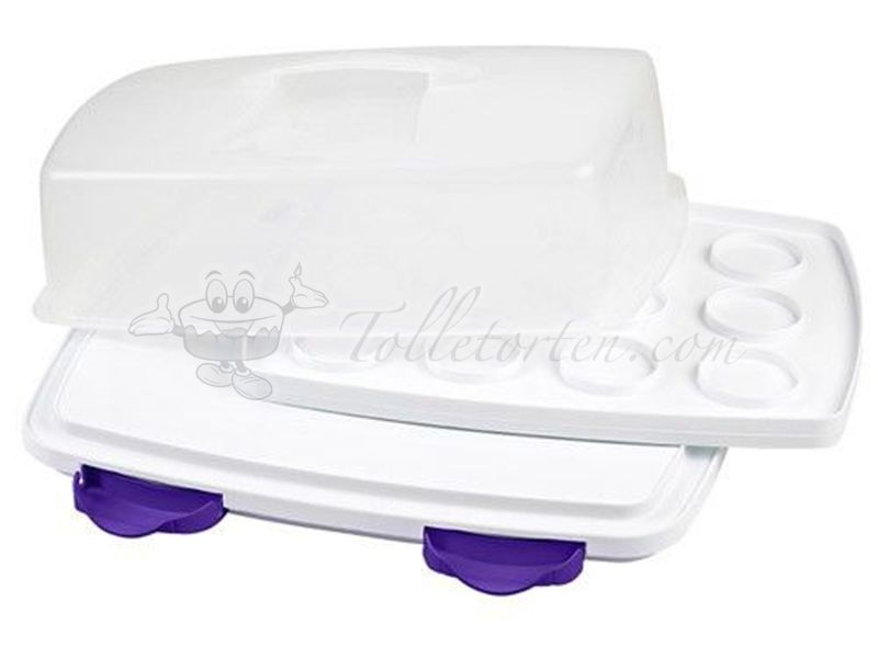 Wilton Tortenbox Ultimate 3-IN-1 Cake Caddy