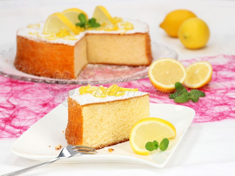 Fluffy Lemon Cake 425g