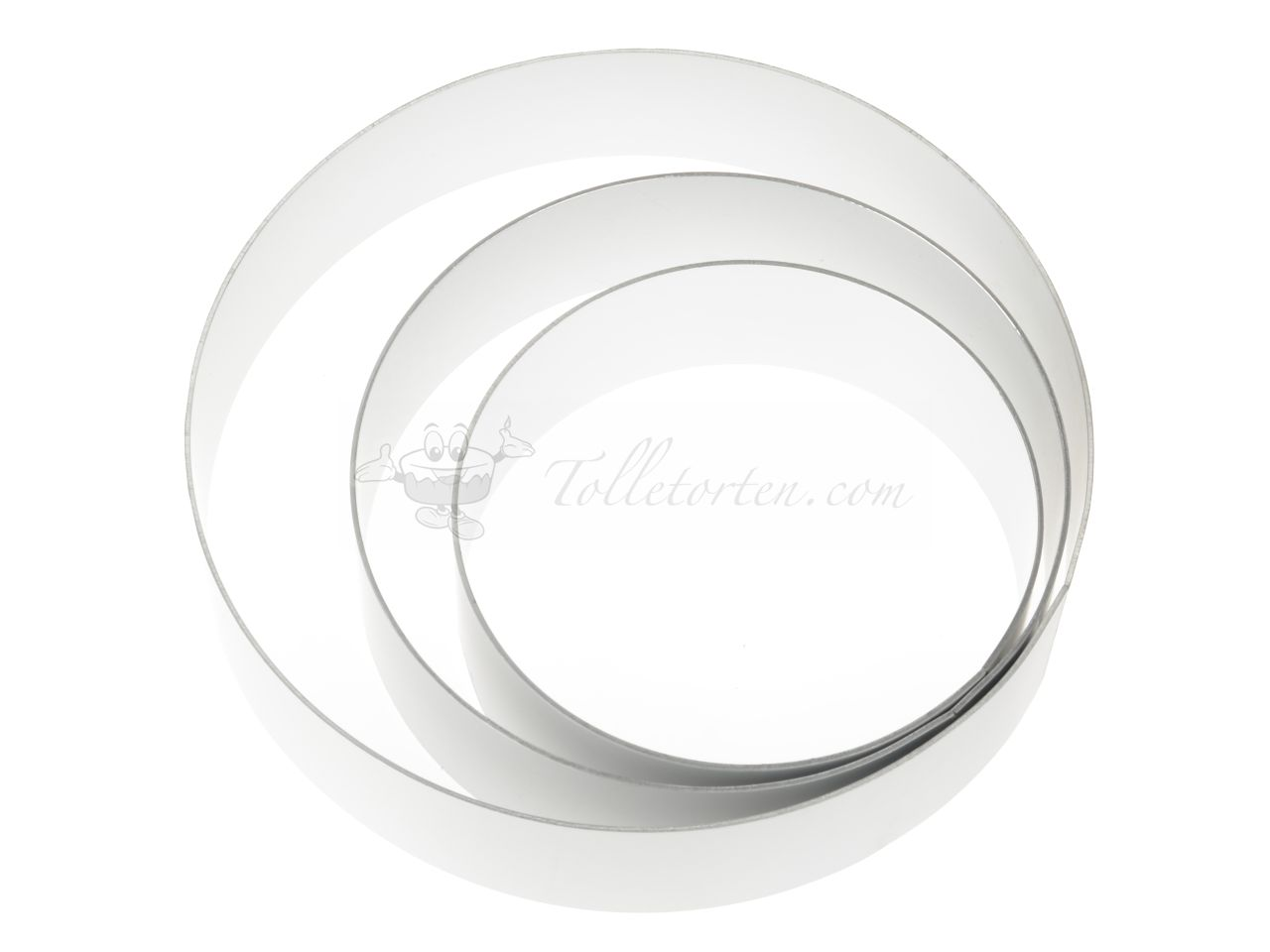 Tortenring Set 60mm 3er
