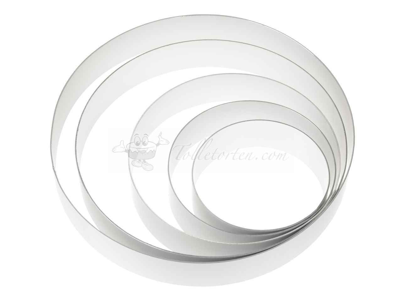Tortenring Set 60mm 5er