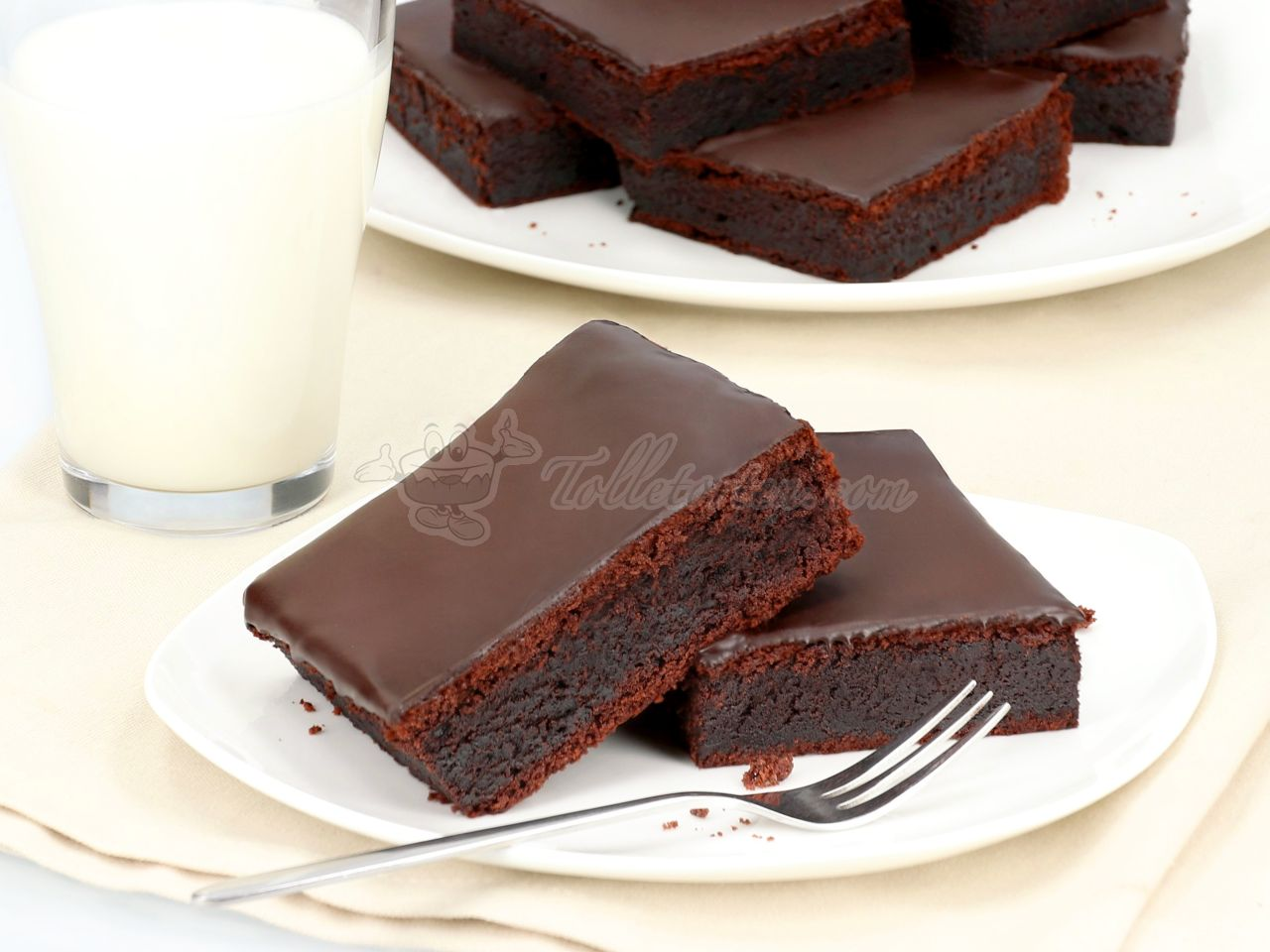 Brownie Mix Double Chocolate 516g