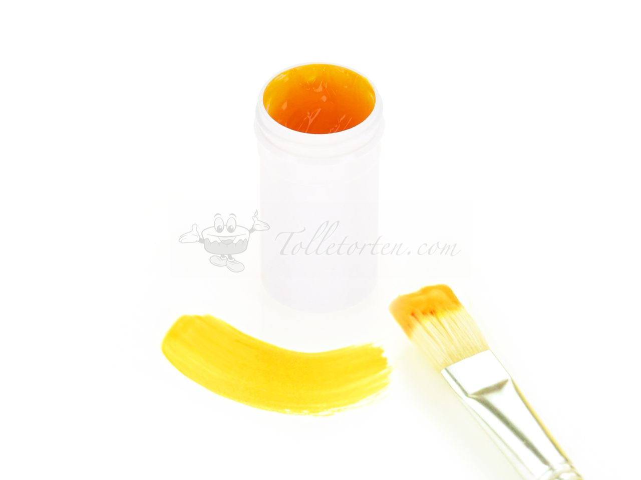 Cake Painting Color golden yellow 20g