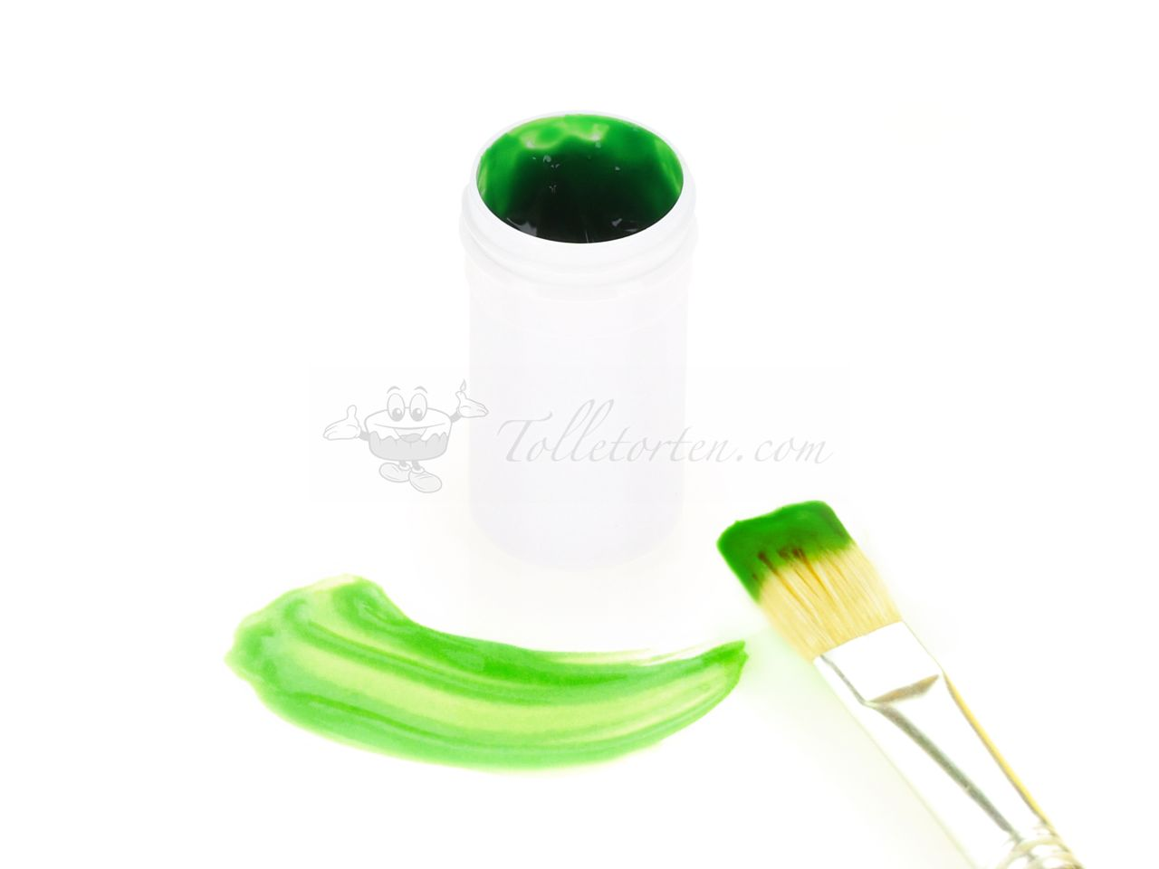 Cake Painting Color apple green 20g