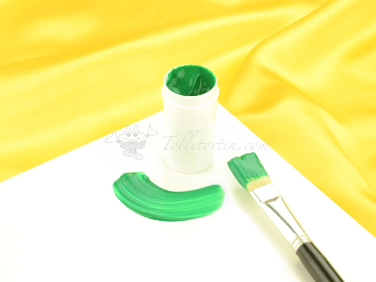 Cake Painting Color dark green 20g