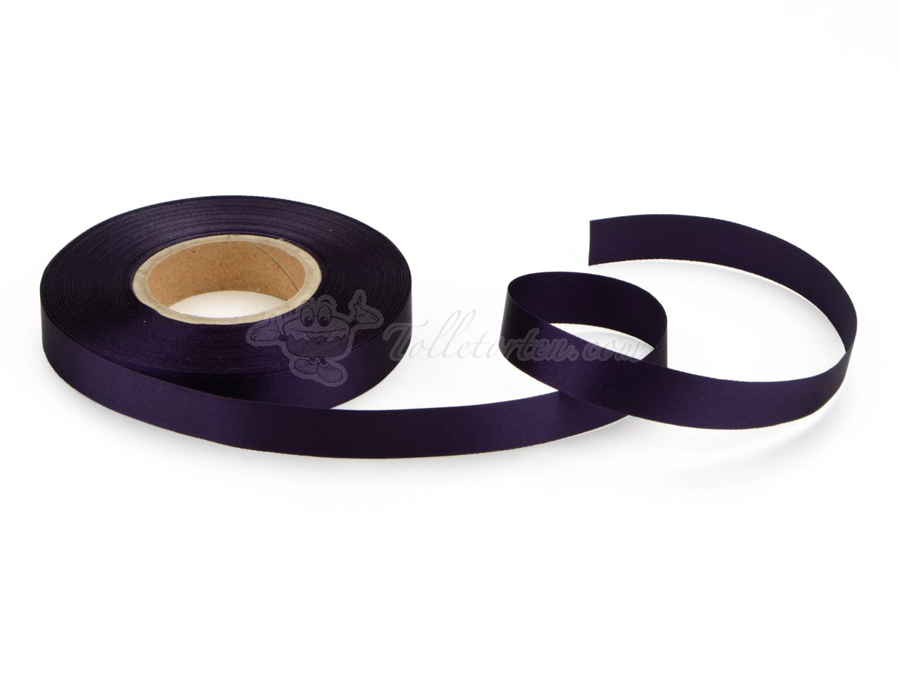 Satinband violett 14mm, 30 Meter