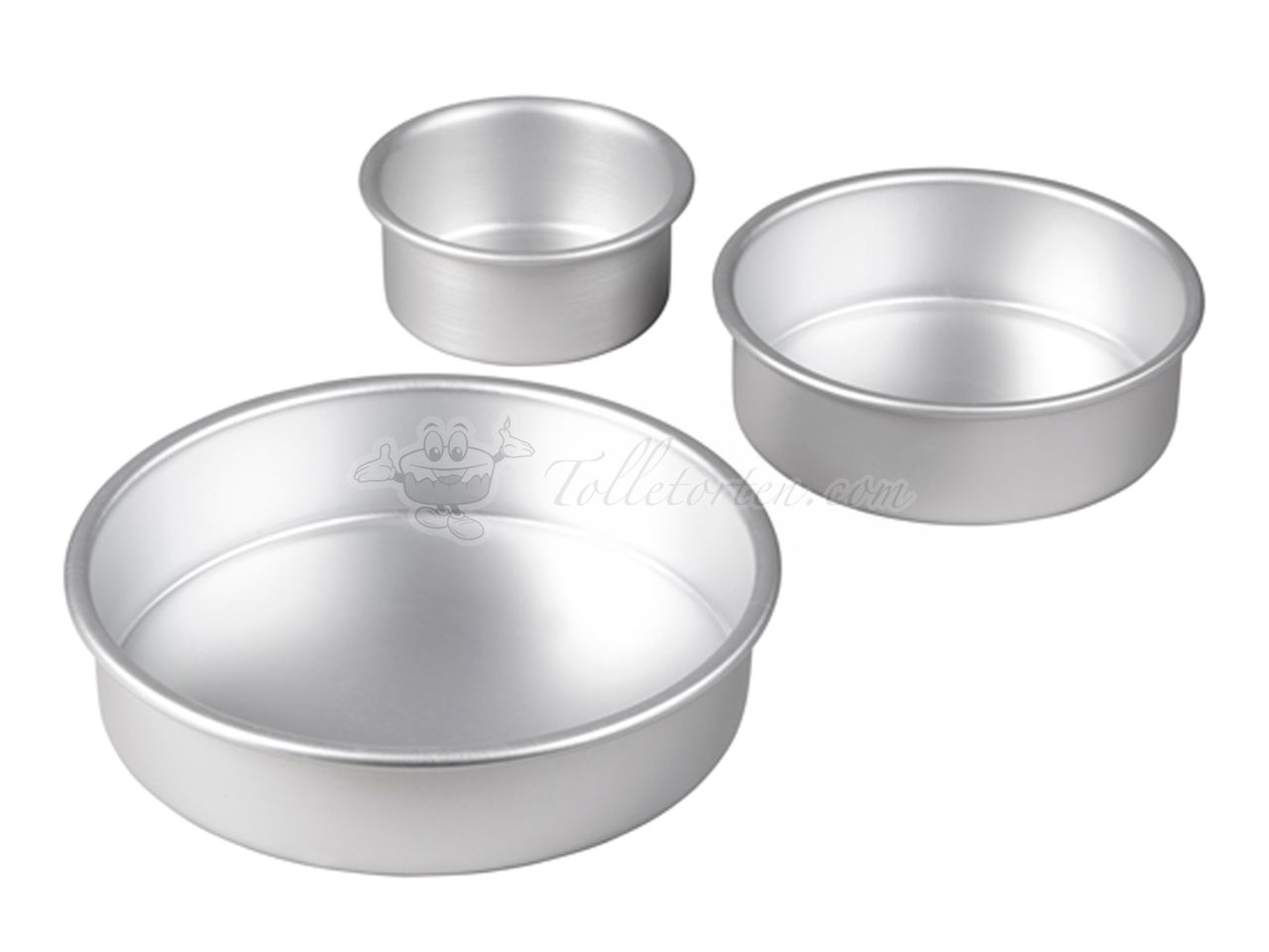 Wilton Tiered Trio Round Pan 3er Set