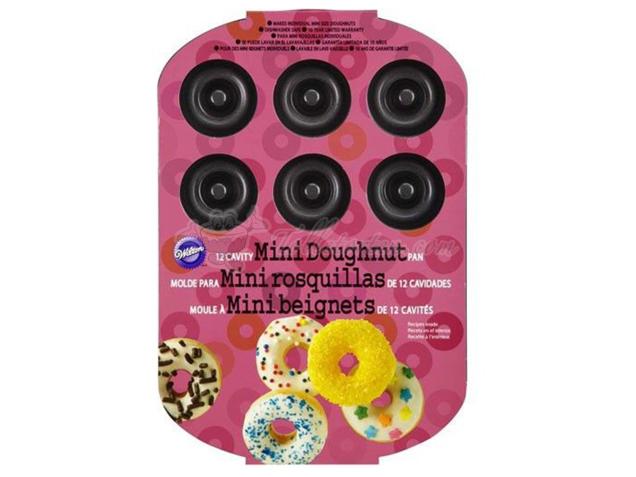 Wilton 12-Cavity Mini Donut Pan