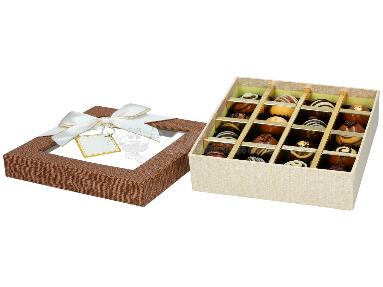 Chocolate Case Treasure für 16 Pralinen