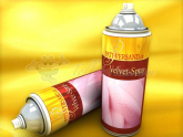 Velvet-Spray rosa 400ml