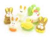 Figuren Ostern Zucker 7er Set