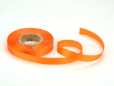 Satinband orange 14mm, 30 Meter