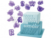 Wilton Alphabet/Number Cut-Outs Set 40er