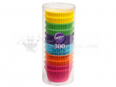 Wilton Baking Cups Rainbow Brights 300 Stück