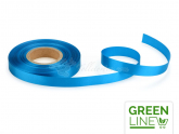 Satinband blau 14mm, 30 Meter GREENLINE