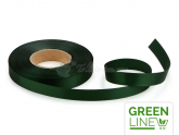 Satinband waldgrün 14mm, 30 Meter GREENLINE