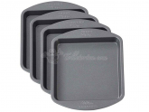 Wilton Easy Layers Square Cake Pan 15cm 4er Set